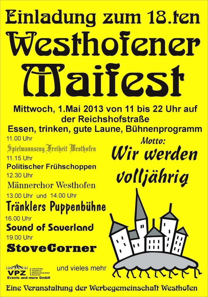 Maifest-Plakat 2013