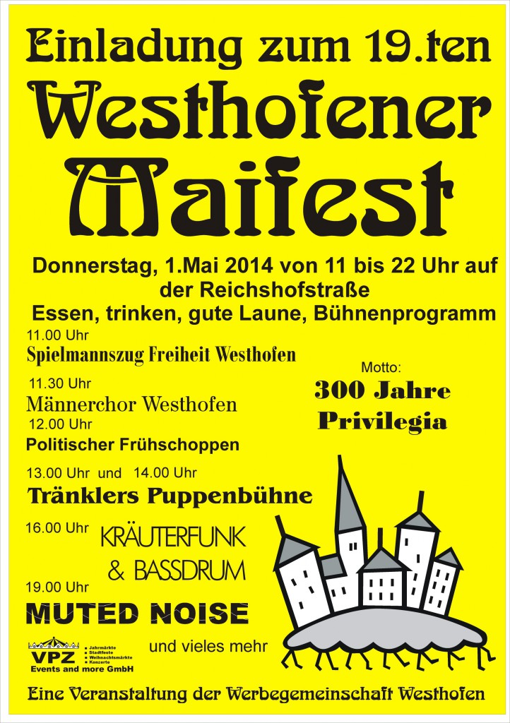 Maifest-Plakat 2014