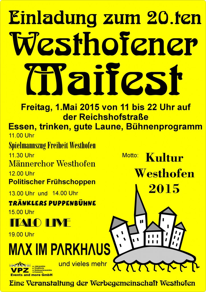 Maifest-Plakat 2015