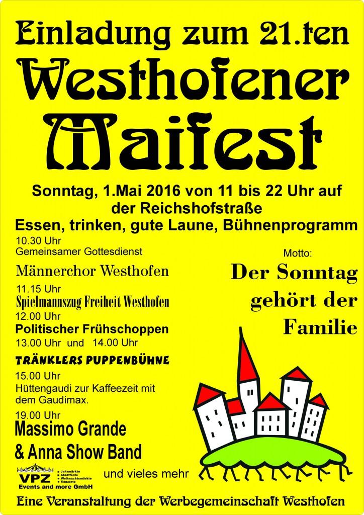 Maifest-Plakat 2016